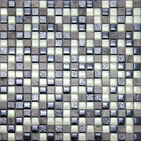 wall art decor glow in the dark mosaic tile