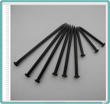 Black Concrete Nails/Black Steel Nails/3/4inch to 4inch Black Nails
