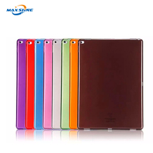 High protective color clear soft TPU case for ipad 2/3/4