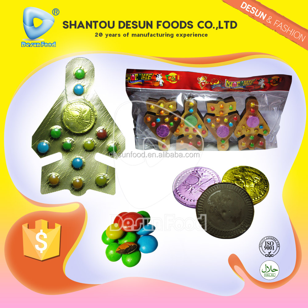 New shape Fighter plane choco bean with choco coin