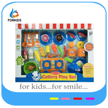 Kids cooking pay set toys,funny kitchen toy set,plastic dinner set for pretend play