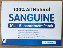 30bags /box 100% herbal ingredients Male Enhancement patch,penis enlarge patch, men enlarge patch