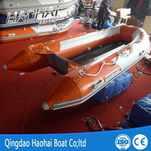 3.8m 8 person pvc hull and ce inflatable fishing boats