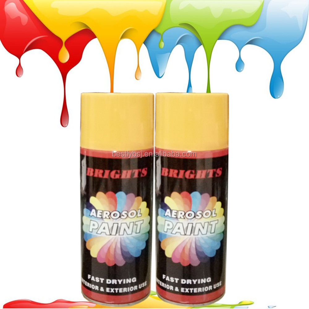 Acrylic Aerosol Spray Car Paint Automotive Paint