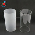 borosilicate glass tube cylinder for candle cover