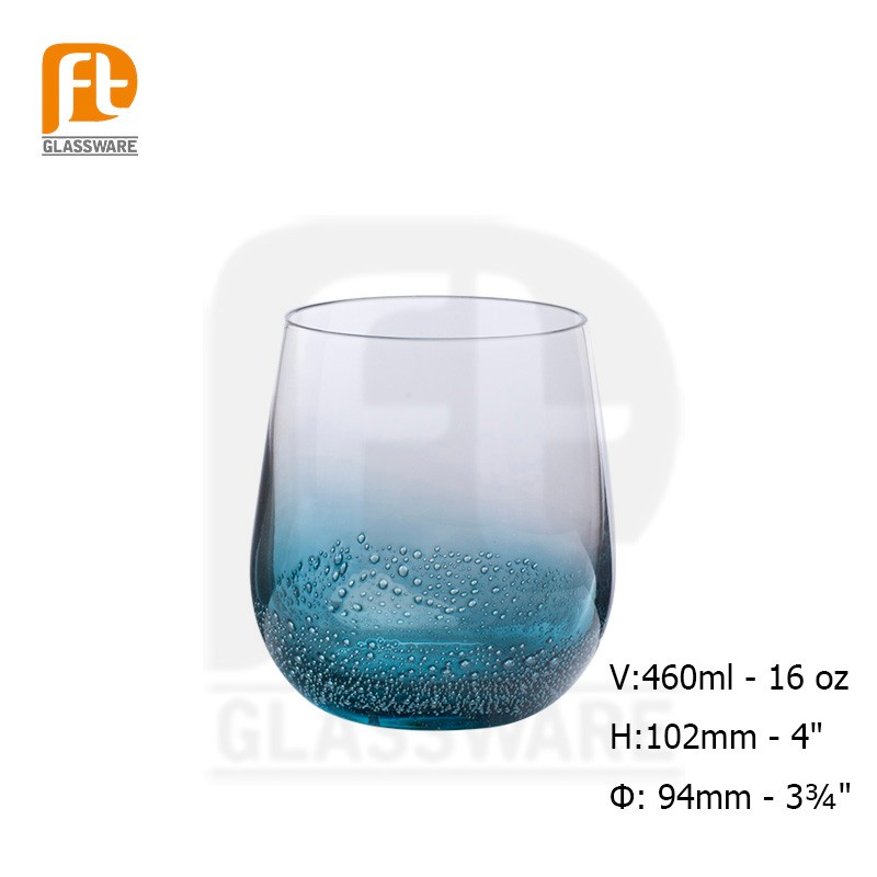 2016 Souvenir Long Drink Glassware/Exquisite Glassware Certified Bubble whiskey glass cup
