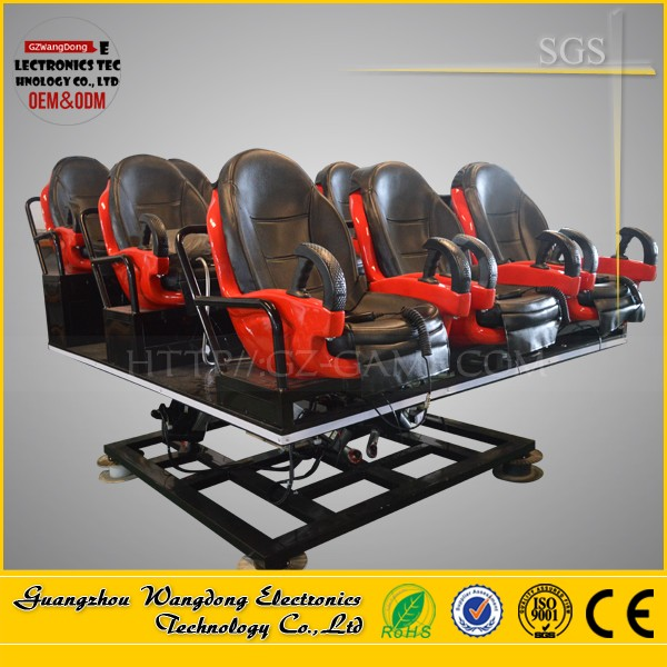 Wangdong 2016 New Business 5D Supplier Children Funny Games Cinema 5D 7D /9D 12D Movie Theatre In China