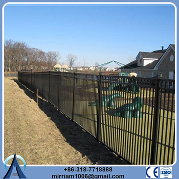 Wholesale China Merchandise galvanized pvc coated perimeter fencing