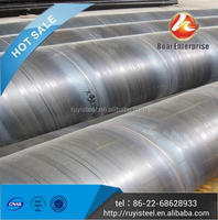 First Grade Tianjin Boai Export GB/T9711 SSAW 8 inch pipe for pipeline transportation systems