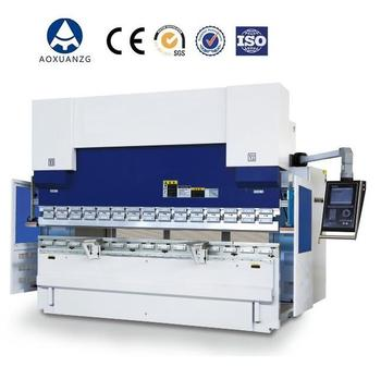 CNC Plate Bender Machine , CNC press brakes WC67K-80T/4000
