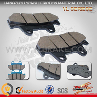 2016 New Competitive Price Cheap German Brake Pads For Motorcycle