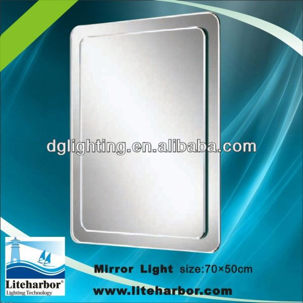 Bathroom Furniture CE Listed led mirrors with shaver socket for bathrooms,cloakrooms China manufacturer