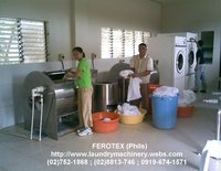 Laundry Washer, Hydro Extractor and Tumbler Dryer