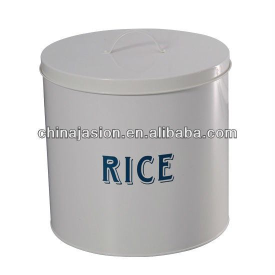 large rice storage bin