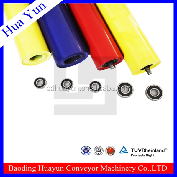electrostatic paint industrial ball bearing roller with double roller skates