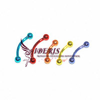 piercing jewelry surgical steel colorful body chain jewelry (MCH-00607)