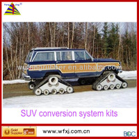 Tractor,Truck and SUV Rubber Track conversion systems/ SUV truck Rubber-Track kits