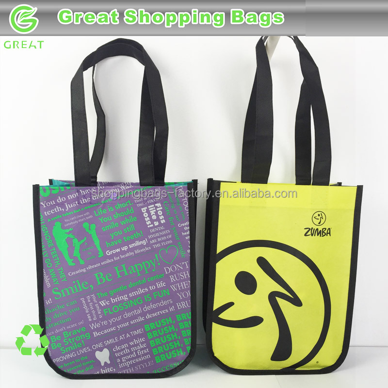 Laminated Non Woven reusable promotional bag