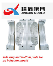 PU SINGLE DOUBLE COLOR INJECTION ALUMINIUM SHOE MOULD