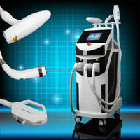 Hot selling 5 in 1 e-light ipl rf+nd yag laser multifunction machine