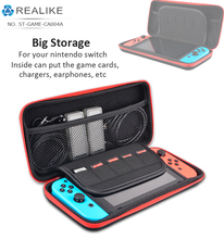 Free sample game bag case for nintendo switch eva zipper