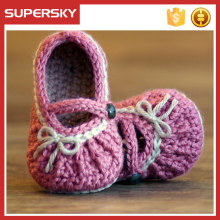 A-579 Toddlers Crochet Slippers Shoes First Walkers Crochet Shoes Handmade Crochet Baby Footwear
