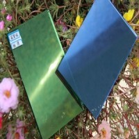 Colored Reflective Glass Coated Glass Wholesale Price