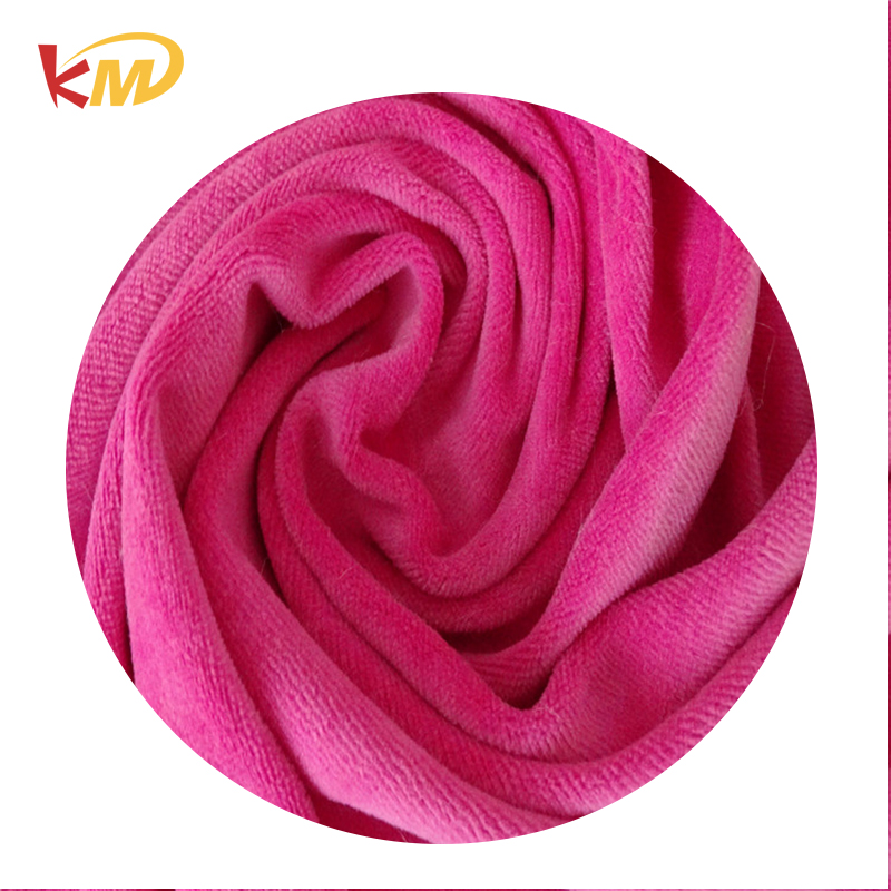 Top Quality well designed velour fabric for curtain , t shirt , dress