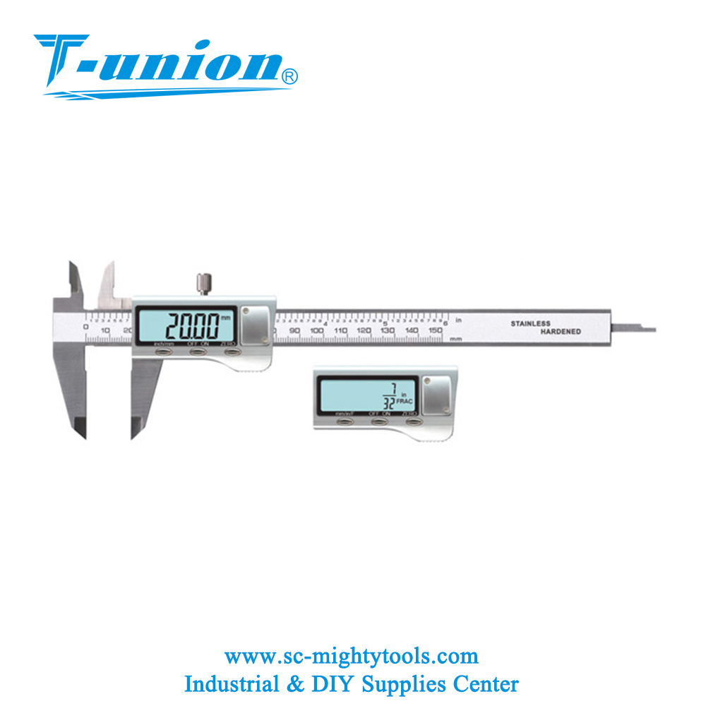 0-100mm 4 inch Mini Digital Vernier Caliper with Metal Cover