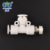 High Quality 1/8 1/4 1/2 3/8 3/4 MPD plastic pvc compression Pneumatic Pipe Fittings compress compressed air fittings