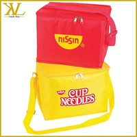 Insulated Polyester Cheaper 6 Can Cooler bag for promotion