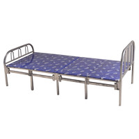 Adult folding single bed