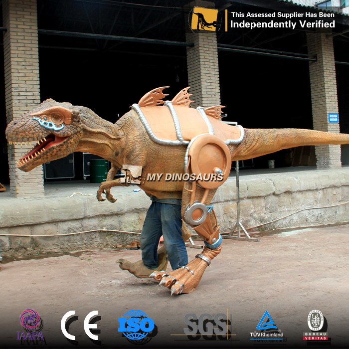 MY Dino-DCA324 Walking Dinosaur Costume Rent for 3d Movies