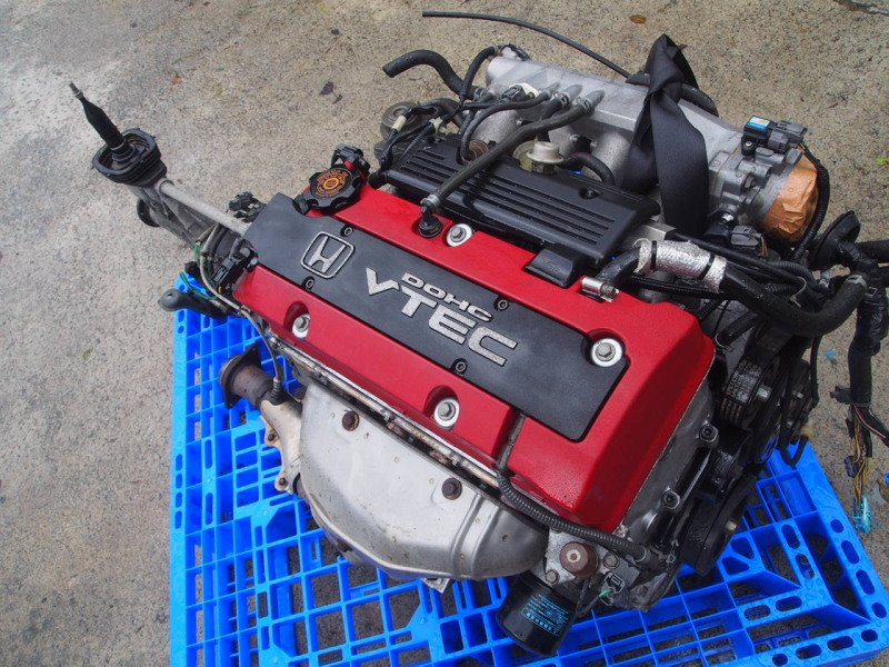 USED JDM RED Engine Motor OEM for S2000 Kouki AP1 AP2 F20C V-TEC F20A