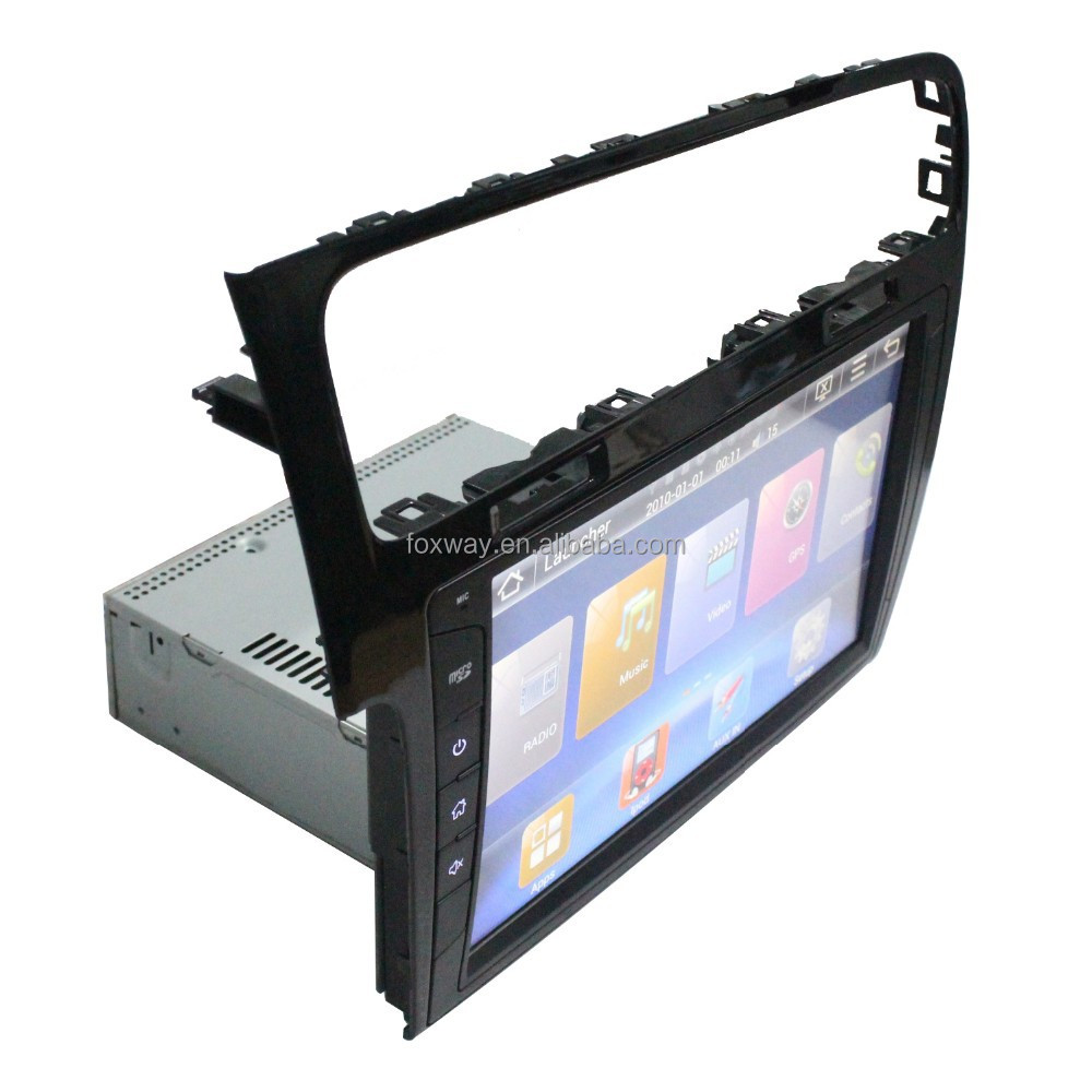 Universal 1 din car dvd gps navigation for