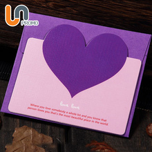 Super September Handwork Paper Birthday Heart Shape Handmade Greeting Card