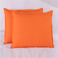 polyester pillow with brocade