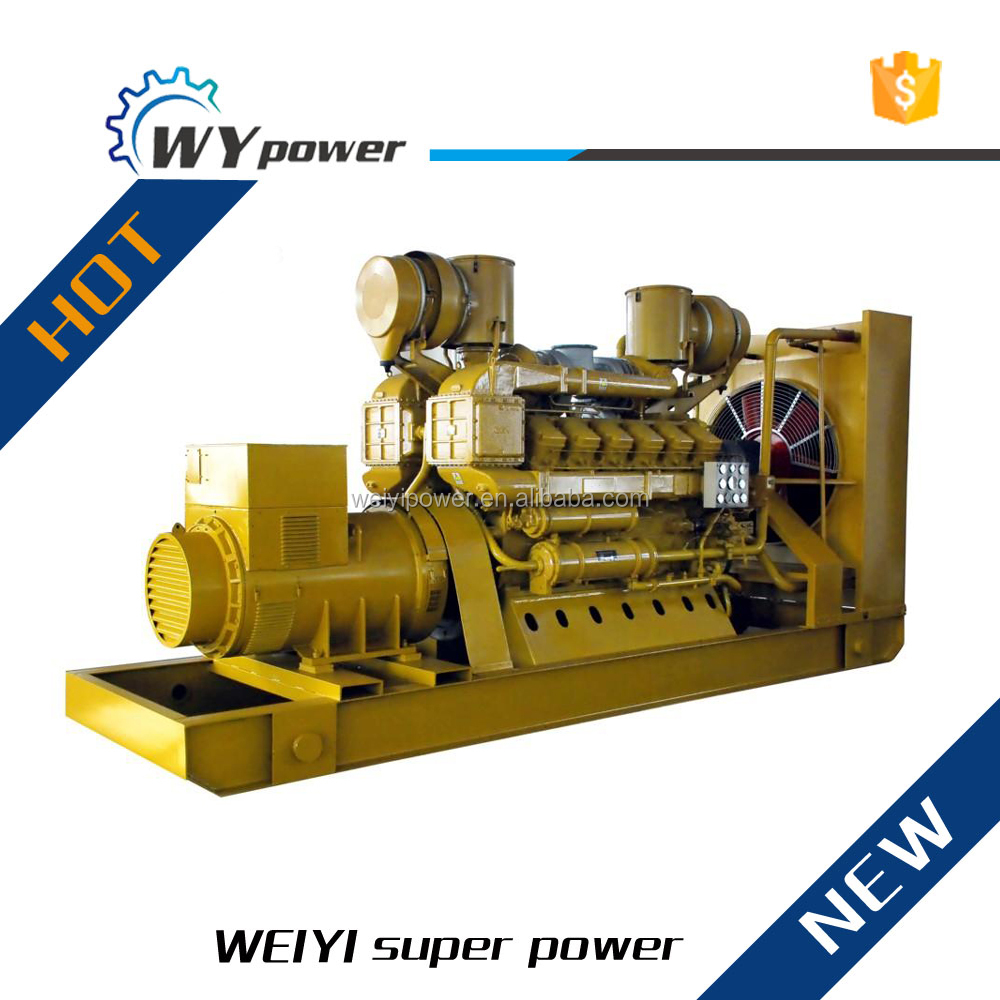 high quality Jichai 880kw green power generator prices