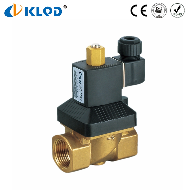 KL523 Series High Pressure High Temperature Normally Open Type AC 220V Solenoid Valve