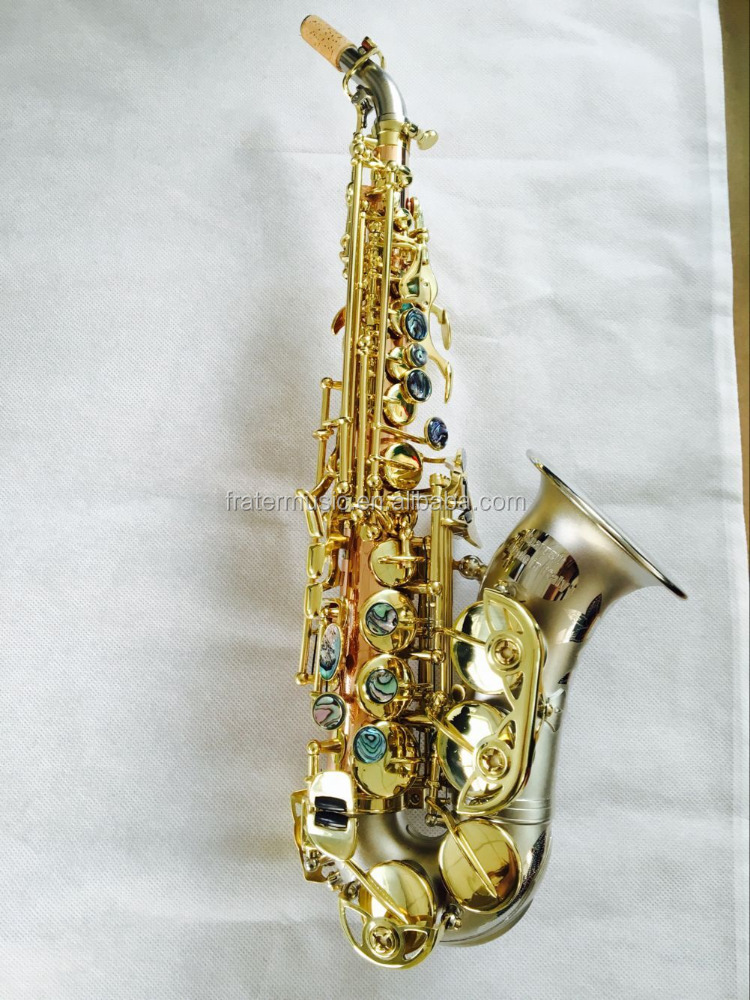 High Grade Curved Soprano Saxophone (JSSC-970)