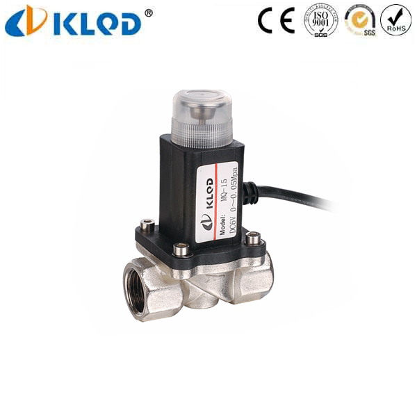 KLMQ Series Gas Emergency Shut Off Solenoid Valve 12V