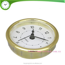 61 mm 2.4 inch plastic bezel clock inserts for table alarm clock clock fit up