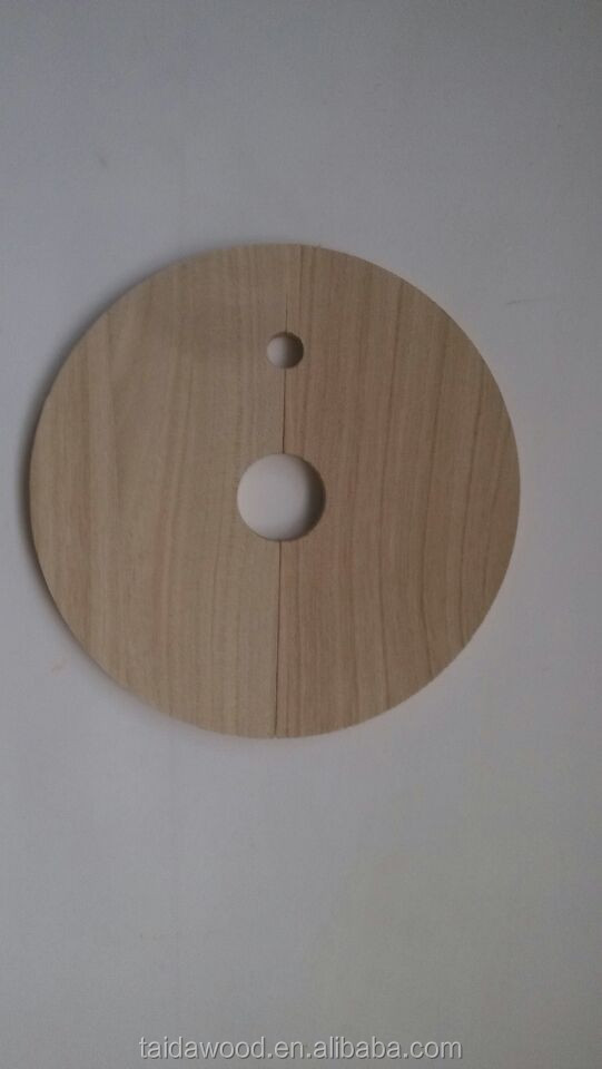 Round wooden pieces , wooden part for boxes ,wooden block