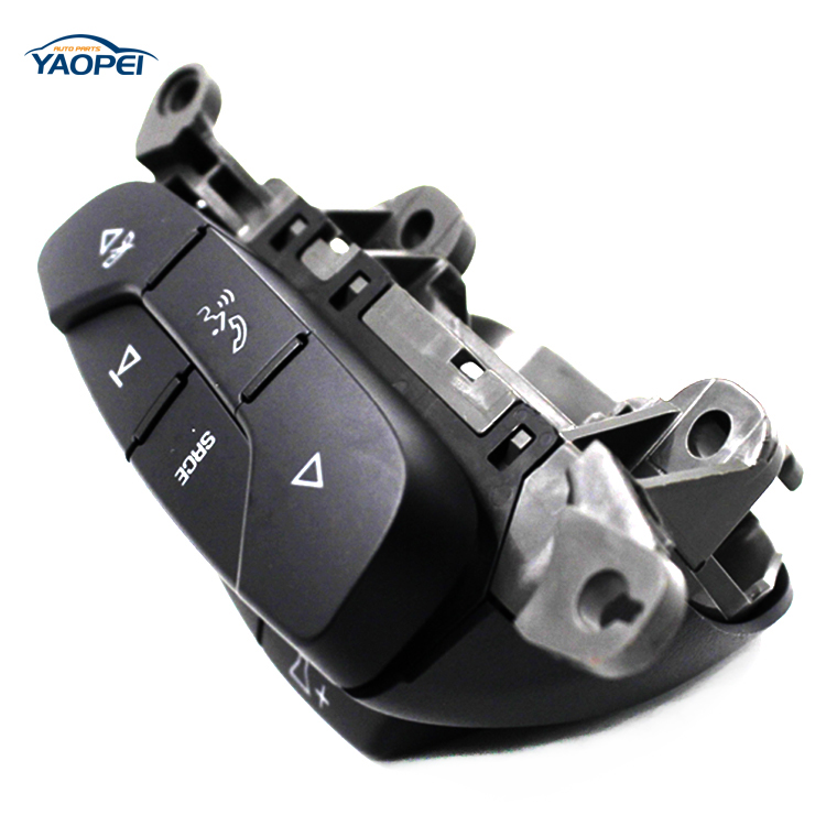 High Quality For 2009-13 GMC Audio Genuine Radio Steering wheel Control RH Switch Bluetooth OEM 25851951