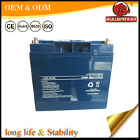 Rechargeable lithium iron battery/hybrid supercapacitor lifepo4 battery packs
