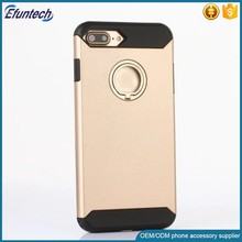 Super hard with ring stand plastic cell phone case for iphone 6 6 plus case