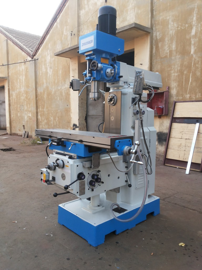 zx6350zb vertical milling machine universal horizontal