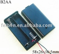 2AA Battery Holder with cover
