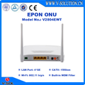 4GE+WiFi+RF EPON CATV ONU with Built-in WDM Filter Support TR069 and Web Management Compatible with Huawei/ZTE/Fiberhome OLT