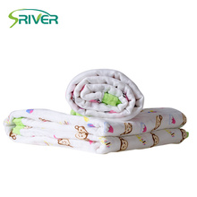 Customize soft natural kids bamboo swaddle blankets